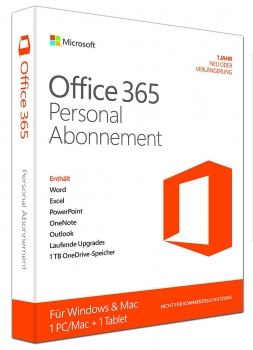 Microsoft Office 365 Personal PKC